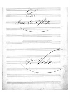 La rose de Saint-Flour: violinos parte II by Jacques Offenbach