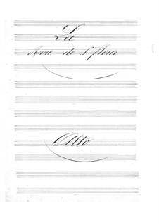 La rose de Saint-Flour: parte violas by Jacques Offenbach