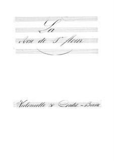 La rose de Saint-Flour: parte violoncelos e contrabaixos by Jacques Offenbach