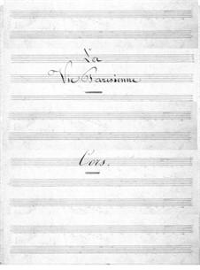 La vie parisienne (Parisian Life): parte trompa by Jacques Offenbach