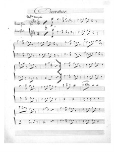 Le mariage aux lanternes (The Wedding by Lantern-Light): parte flauta by Jacques Offenbach
