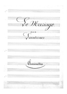 Le mariage aux lanternes (The Wedding by Lantern-Light): parte clarinetes by Jacques Offenbach