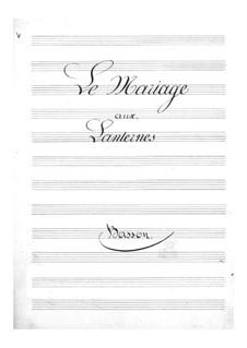 Le mariage aux lanternes (The Wedding by Lantern-Light): parte fagote by Jacques Offenbach