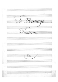 Le mariage aux lanternes (The Wedding by Lantern-Light): parte trompa by Jacques Offenbach
