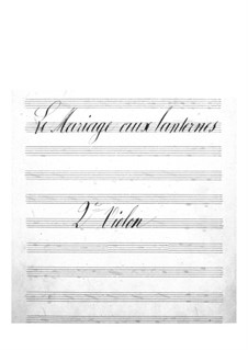 Le mariage aux lanternes (The Wedding by Lantern-Light): violinos parte II by Jacques Offenbach