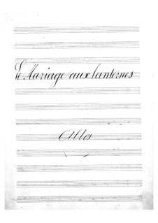 Le mariage aux lanternes (The Wedding by Lantern-Light): parte violas by Jacques Offenbach