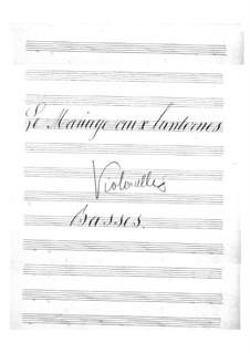 Le mariage aux lanternes (The Wedding by Lantern-Light): Parte Violoncelo by Jacques Offenbach