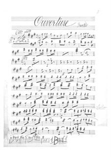 Les brigands (The Bandits): parte flauta by Jacques Offenbach