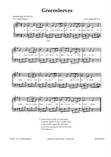 Piano version: For easy notes by folklore