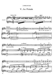 Histoires naturelles, M.50: No.5 La pintade by Maurice Ravel