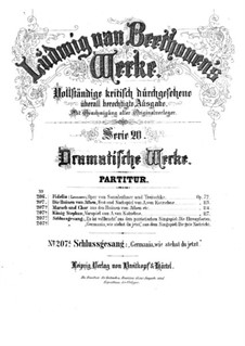 Aria 'Germania', WoO 94: Aria 'Germania' by Ludwig van Beethoven