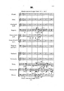 Symphony in F Major, Op.9: movimento III by Hermann Goetz