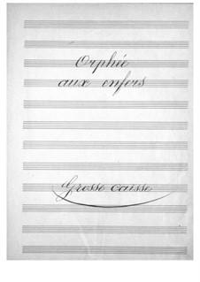 Complete Opera: Trecho de graves da Bateria by Jacques Offenbach