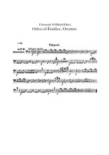 Overture: Peça para Timpano by Christoph Willibald Gluck