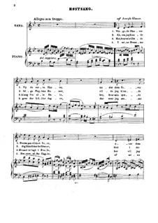 Four Songs: quatro musicas by Joseph Glæser