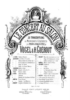 Movement III: para violino (ou flauta, ou violoncelo) e piano by Wolfgang Amadeus Mozart