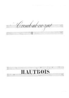 Tromb-al-ca-zar: parte Oboe by Jacques Offenbach