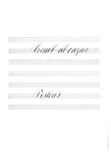 Tromb-al-ca-zar: parte cornetas by Jacques Offenbach