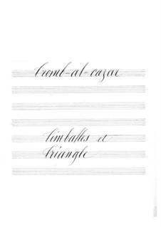 Tromb-al-ca-zar: Timpani and triangle part by Jacques Offenbach