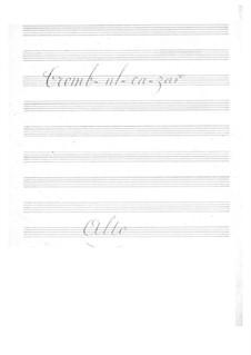 Tromb-al-ca-zar: parte violas by Jacques Offenbach