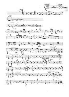 Tromb-al-ca-zar: Parte contrabaixo by Jacques Offenbach