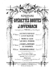 Tromb-al-ca-zar: Para Piano by Jacques Offenbach