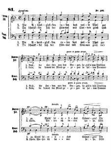 Die Abendglocken rufen: Die Abendglocken rufen by Felix Mendelssohn-Bartholdy