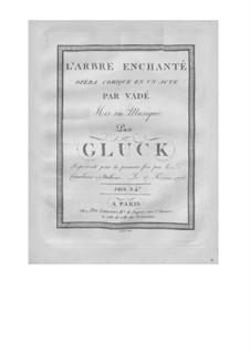 L'arbre enchanté (The Magic Tree), Wq.42: violinos parte II by Christoph Willibald Gluck
