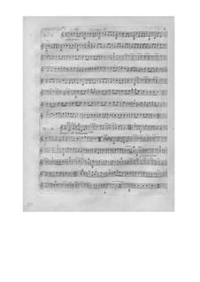 L'arbre enchanté (The Magic Tree), Wq.42: parte trompa by Christoph Willibald Gluck