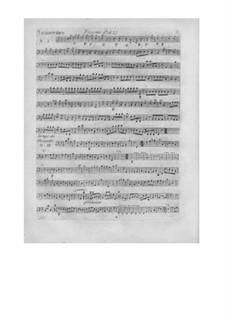 L'arbre enchanté (The Magic Tree), Wq.42: parte fagotes by Christoph Willibald Gluck