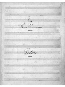 La vie parisienne (Parisian Life): parte cornetas by Jacques Offenbach