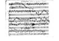 La Dauphine, RCT 12: para cravo (Manuscrito) by Jean-Philippe Rameau