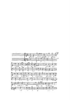 Acclamationi Divote a voce sola, Op.10: Gaude nunc by Giovanni Legrenzi