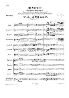 Dite almeno, in che mancai, K.479: Dite almeno, in che mancai by Wolfgang Amadeus Mozart