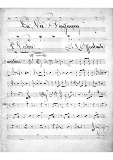 La vie parisienne (Parisian Life): violinos parte II by Jacques Offenbach