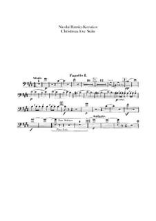 Christmas Eve. Suite: parte fagotes by Nikolai Rimsky-Korsakov