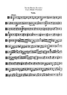 The Tsar's Bride: Abertura - parte viola by Nikolai Rimsky-Korsakov