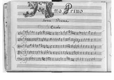 Ercole amante (Hercules in Love): ato I by Pietro Francesco Cavalli