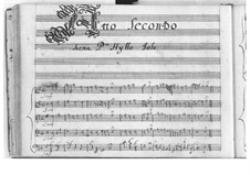 Ercole amante (Hercules in Love): Ato II by Pietro Francesco Cavalli