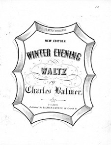 Winter Evening Waltz: Winter Evening Waltz by Charles Balmer