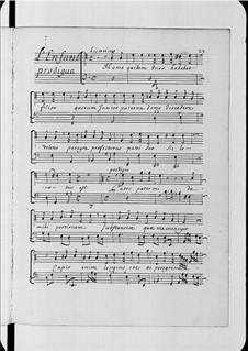 L'enfant prodigue, H.399: L'enfant prodigue by Marc-Antoine Charpentier