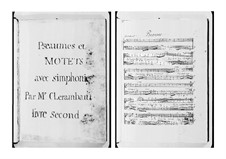 Motets: Motets by Louis-Nicolas Clérambault