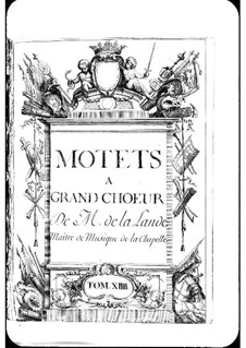 Motets (Collections): Volume XIV by Michel Richard de Lalande