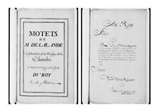Grand Motets (Collections): Volume V by Michel Richard de Lalande