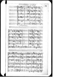 Audite caeli: Audite caeli by Michel Richard de Lalande