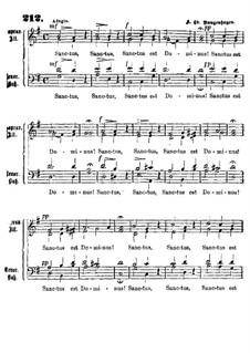 Sanctus est Dominus: Sanctus est Dominus by Carl Friedrich Rungenhagen