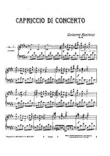 Capriccio di concerto, Op.24: Capriccio di concerto by Giuseppe Martucci