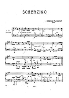 Scherzino, Op.29: Scherzino by Giuseppe Martucci