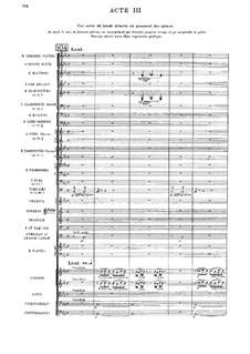 Amadis: Ato III by Jules Massenet