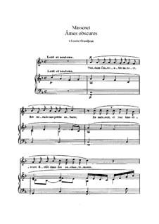 Âmes obscures: em F Major by Jules Massenet